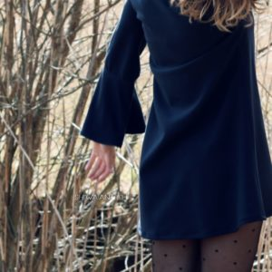 dress with the oversized sleeves1